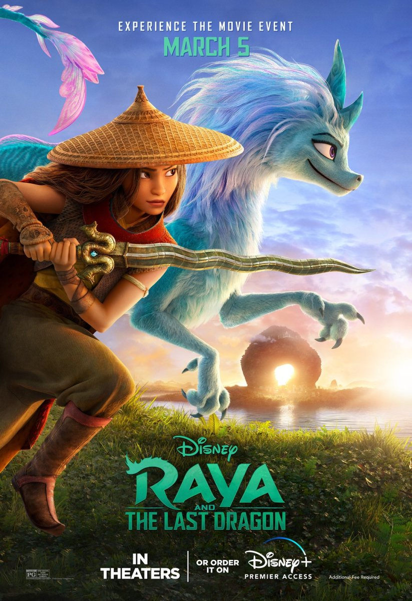Raya et le dernier dragon ; Disney ; Disney+ ; review ; avis ; critique ; Raya