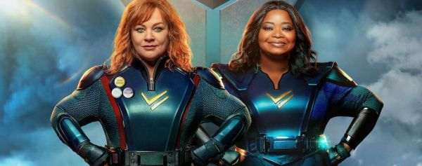thunder force ; octavia spencer ; netflix ; melissa mc carthy ; review ; avis ; critique ; super hero