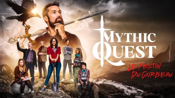 Mythic Quest ; apple TV ; le festin du corbeau ; comédie ; avis ; review ; critique